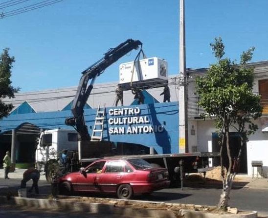 camión grúa paraguay